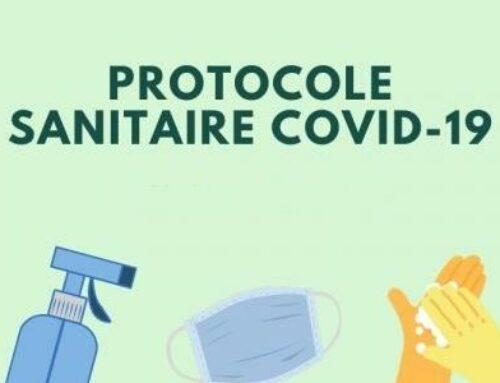 Evolution du protocole sanitaire